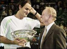 Federer and Laver
