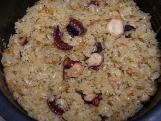 長澤家のレシピブログ-たこ飯のレシピの画像