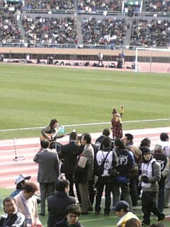 高校サッカー決勝④絢香