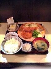 エビフライ&メンチカツ定食 850円