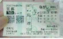 2007.10.7 京都10R 花背特別