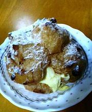 ラビアージュ・ラビ特製シュークリーム