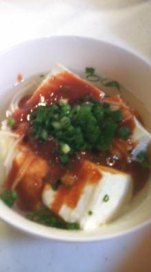 格闘親子と、のほほん母-湯豆腐