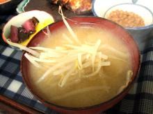 食べて飲んで観て読んだコト-もやしの味噌汁