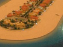 ナキール内パームジュメイラ模型3