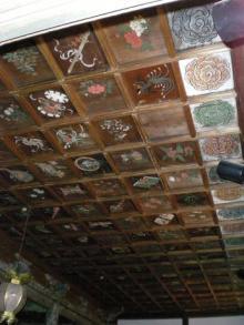 大覚寺宸殿?の天井