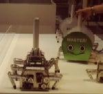 メッセの住宅ゾーン学習ロボット1
