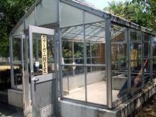 カブトガニ飼育室