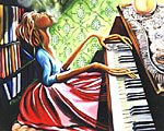 UPTOWN PIANO PLAYER