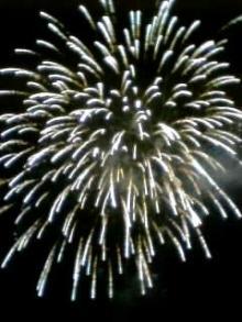 越生の花火