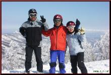 ロフトで綴る山と山スキー-赤いちゃんちゃんこ?