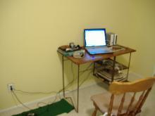 俺の部屋の机