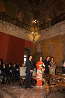 イタリアで結婚式