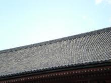 講堂の屋根