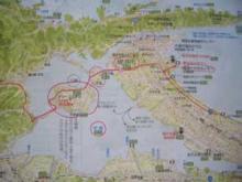 中海・大根島地図