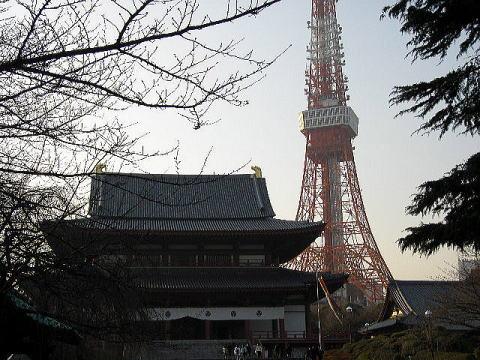 tokyotower&temple3