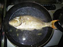 沖縄から遊漁船「アユナ丸」-マース煮