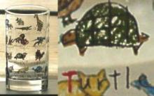 動物グラス