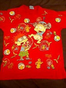 キャラクターTシャツ002