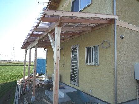 松島匠建の建てる木の家 「太田生品の家」Web日誌-自転車置き場