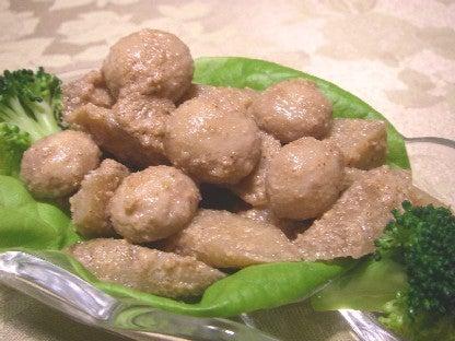 マッシュルームの胡麻サラダ
