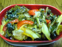 緑黄色野菜炒め
