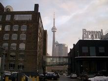 市街地からのCNタワー
