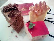 ALPESのケーキ