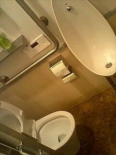 ありえないトイレ