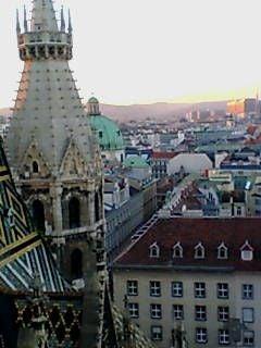 塔の上から市内を見る3
