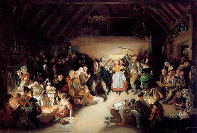 Snap-Apple Night by Daniel Maclise