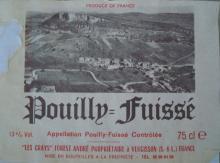 個人的ワインのブログ-Pouilly Fuisse Les Crays Forest Andre