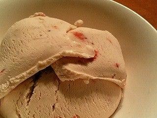 苺アイスクリーム