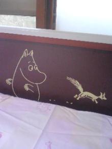ムーミンのベッド