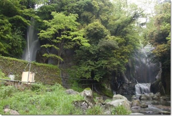 竜宮滝全景