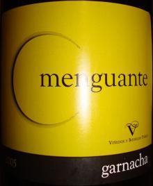 Menguante garnacha 2005
