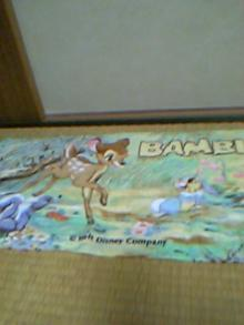 バンビのフェイスタオル
