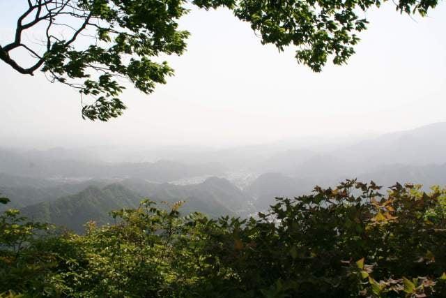 四ツ又山からの景色