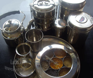 インドのステンレス製品