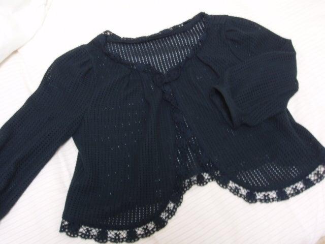かぎ針編みカーデ