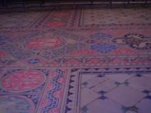 サント・シャペルの床石