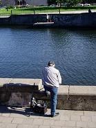 魚釣りのおっちゃん