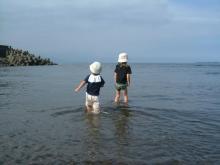 海へ向かって