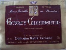 個人的ワインのブログ-Gevrey Chambertin Rene Leclerc
