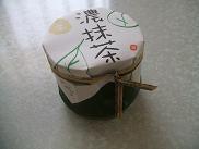 竹甘露・濃抹茶(栗)@甘納豆かわむら♪