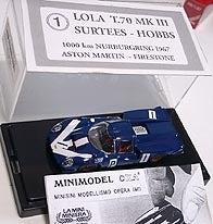 MINIMODEL OXA LOLA T-70 Mk3