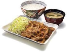 牛焼肉定食(辛口)