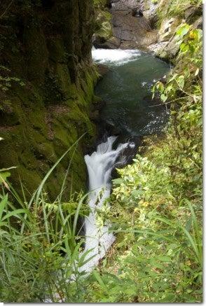 渓谷の滝1