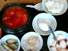 赤スンドゥブ定食