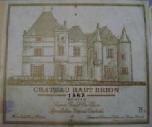 個人的ワインのブログ-Ch Haut Brion 1982
